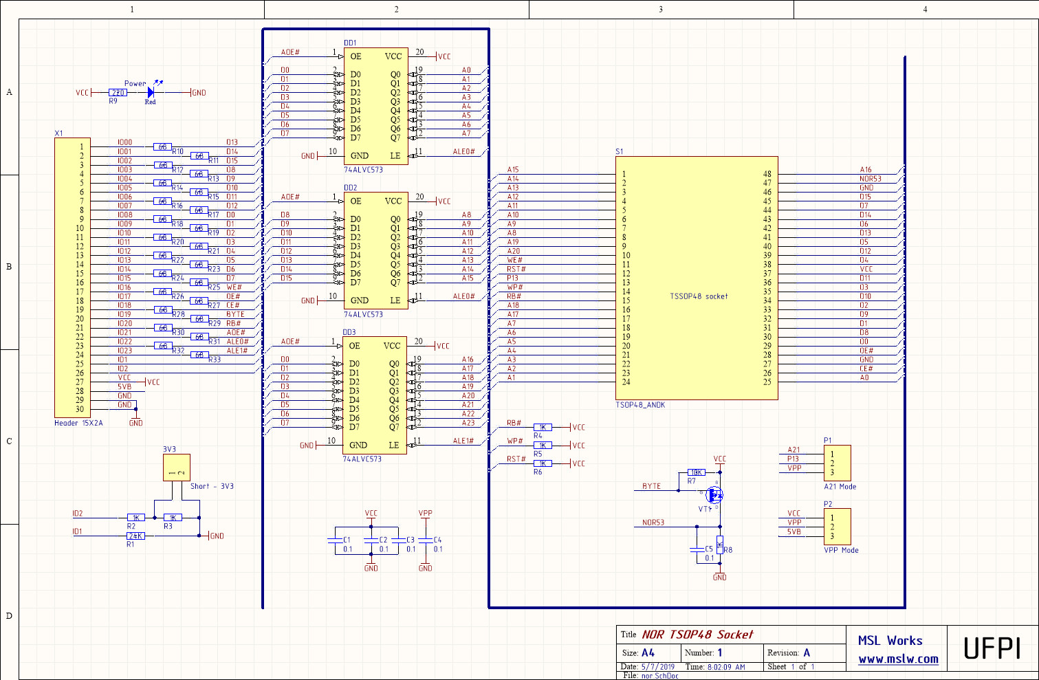 Schematics – MSL Works
